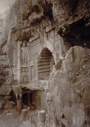 Exterior of Cave No 26, [Ajanta]